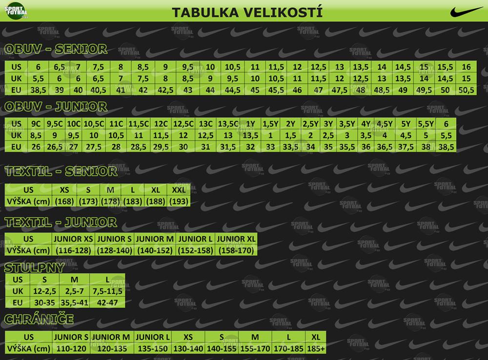 2220a45fa Tabuľky veľkostí | sportfutbal.sk