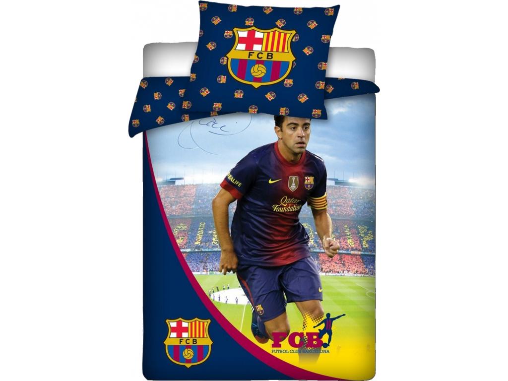 Povlečení FC Barcelona Xavi s podpisem