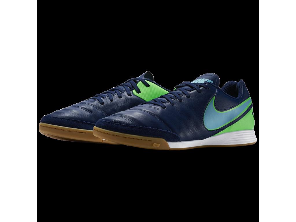 Sálové kopačky Nike Tiempo Genio Leather II IC