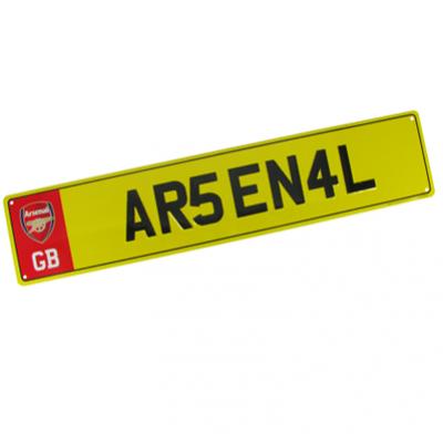Registrační značka Arsenal FC