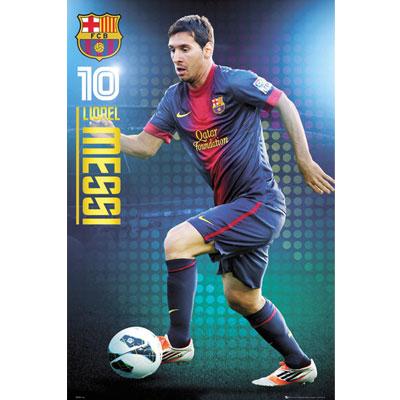 Plakát FC Barcelona Lionel Messi