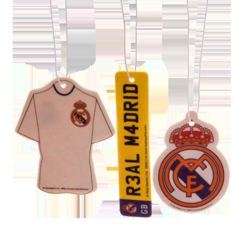 Osvěžovač vzduchu Real Madrid FC 3 kusy