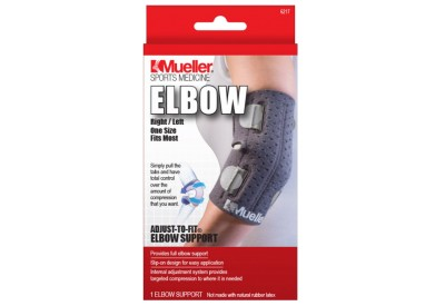 Ortéza na loket Mueller Adjust-to-Fit Elbow Support