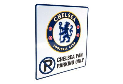 Cedule Chelsea FC Fan Parking Only