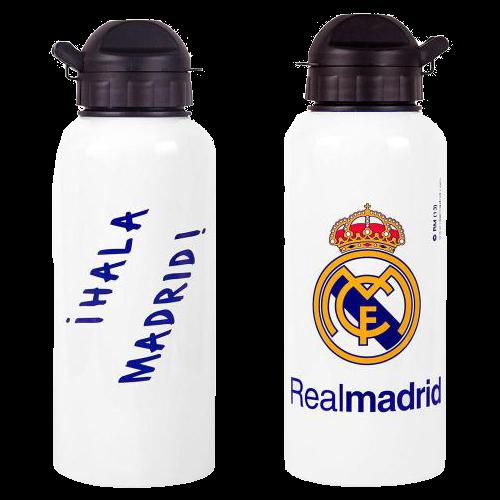 Hliníková láhev na pití Real Madrid FC