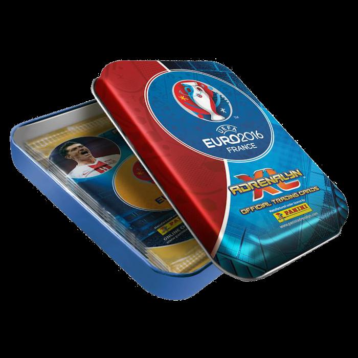 Malá dárková krabička Panini Adrenalyn XL EURO 2016