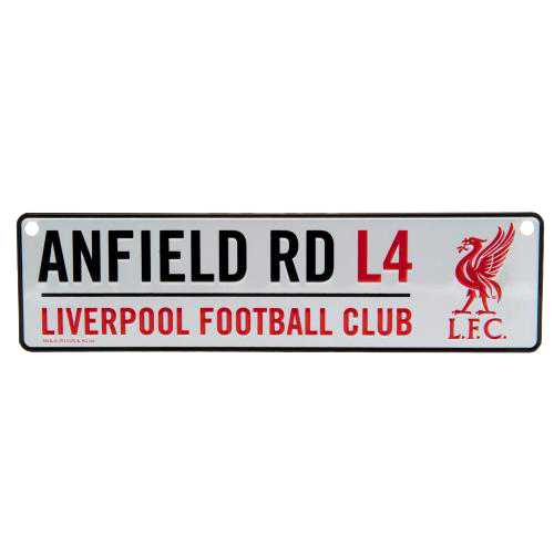 Cedule Liverpool FC Anfield Road