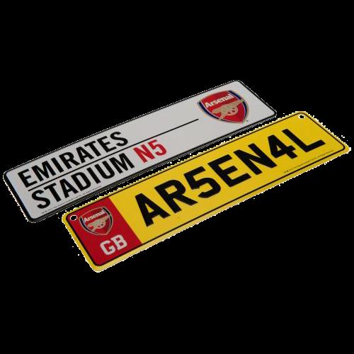Set cedulí Arsenal FC
