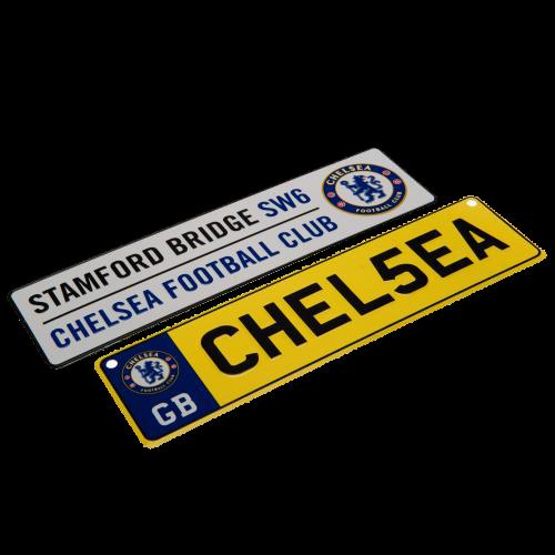 Set cedulí Chelsea FC