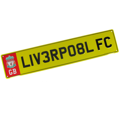 Registrační značka Liverpool FC