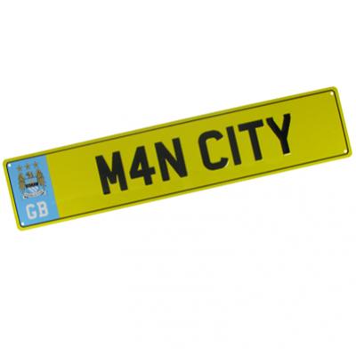 Registrační značka Manchester City FC