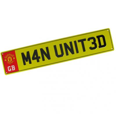 Registrační značka Manchester United FC