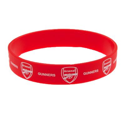 Silikonový náramek Arsenal FC