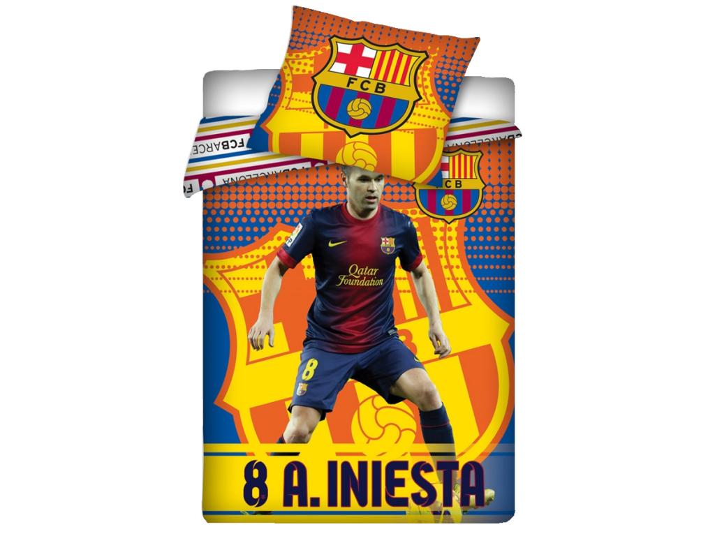 Povlečení FC Barcelona Andrés Iniesta - 100% bavlna