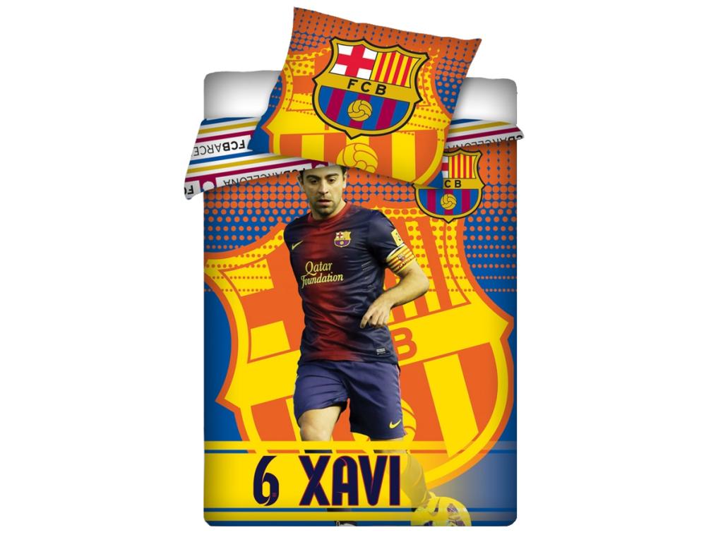Povlečení FC Barcelona Xavi - 100% bavlna