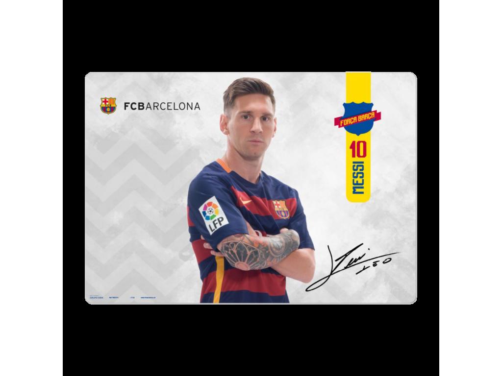 Podložka na stůl FC Barcelona Messi